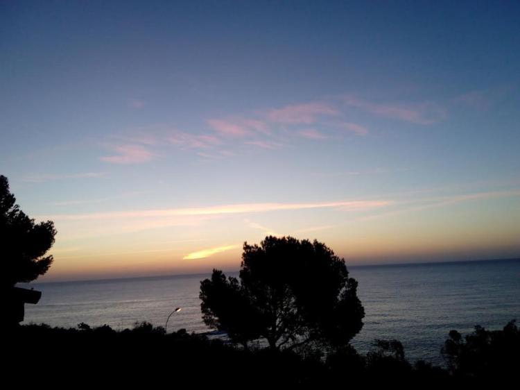 Le ciel à l'orient