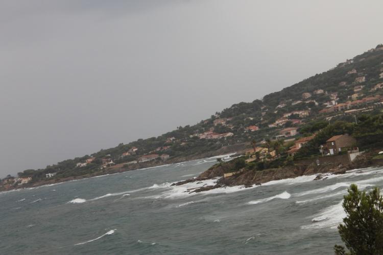 La méditerranée déchaînée en plein été