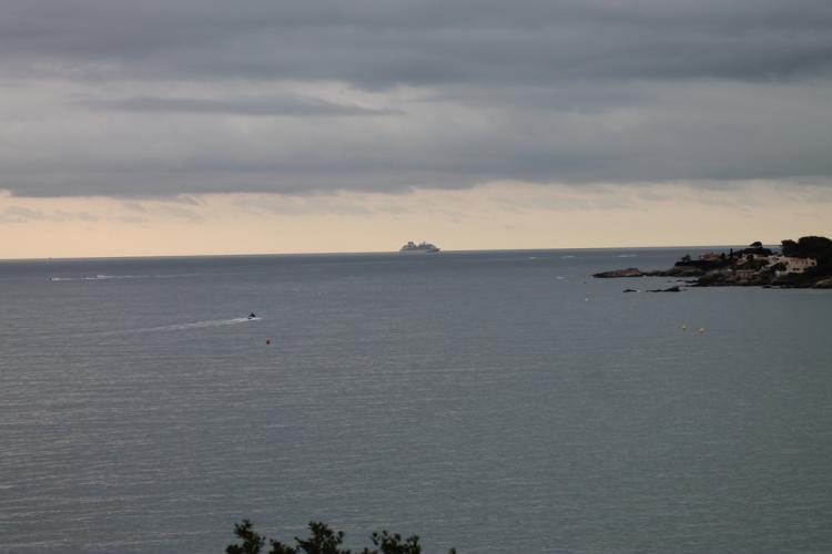 L'activité marine dans la baie du Boucharel
