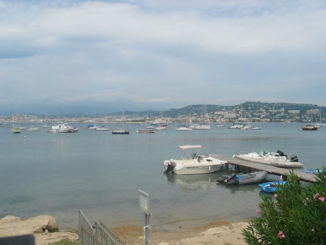 L'embarcadère de St Marguerite (les îles de Lérins)