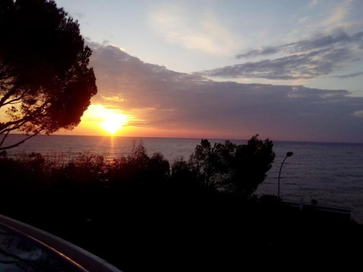 Le lever de soleil en Février