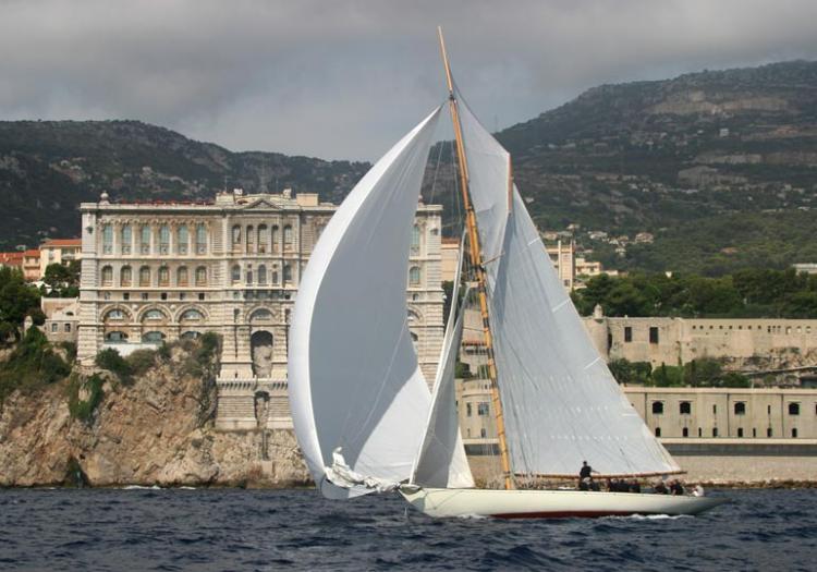 Les voiles devant le musée oceanographique de Monaco