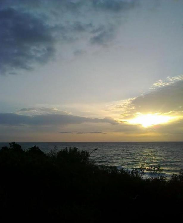 La vue panoramique à l'Orient