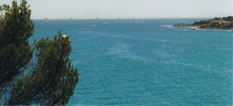 Port Férreol situé à l'extrémité de la pointe côtière