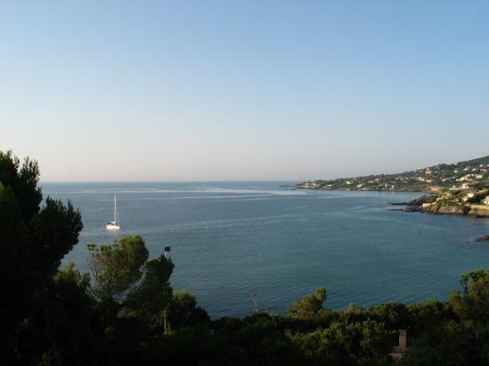 Port ferreol, à l\'extrémité de la pointe côtière