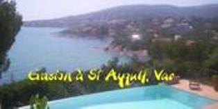 Villa avec piscine sur la côte d'azur