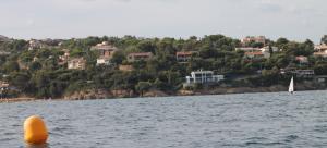 La plage proche de la villa